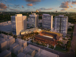 3d masterplanning rendering singapor