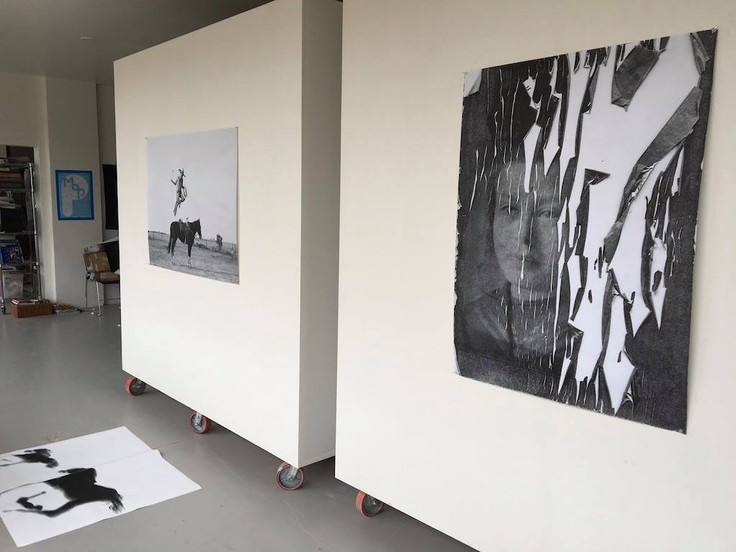 One pic of mine at the Derby Studio Project- April 2019