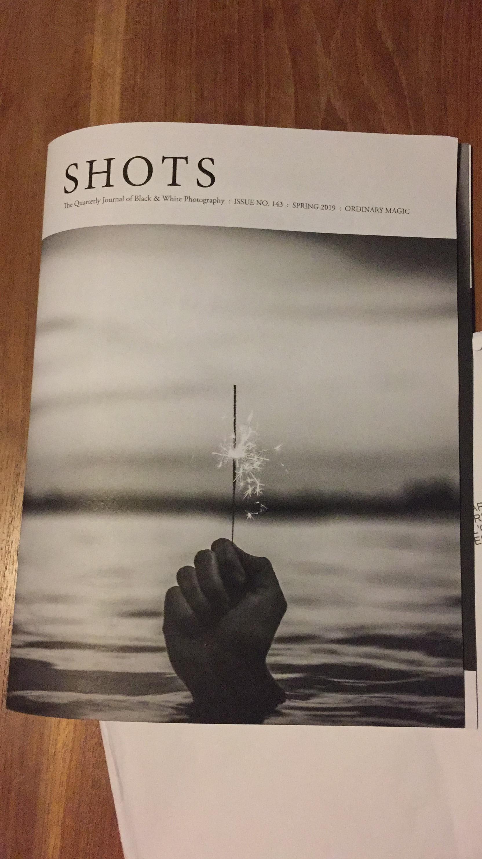 Publication dans le Shots Magazine
