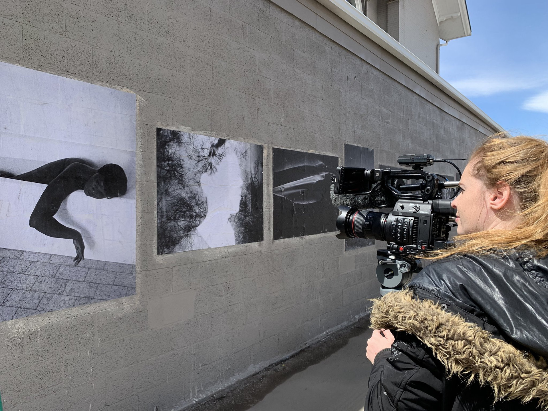 IWI Collective on the Wall in Denver with The Big Picture Colorado - April 2019
