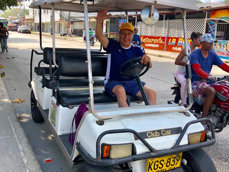 Recorrer la Isla de San Andres, Colombia en carrito de Golf. ¿Vale la pena? - Día 4