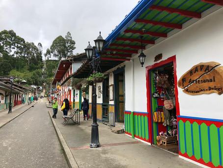 Salento, eje cafetero Colombiano