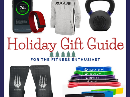 Holiday Gift Guide for the Fitness Enthusiast