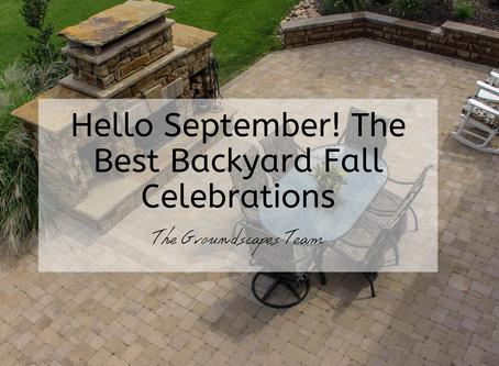 Hello September! The Best Backyard Fall Celebrations