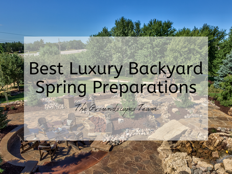 Best Luxury Backyard Spring Preparations
