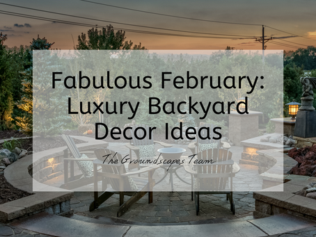 Fabulous February: Luxury Backyard Decor Ideas