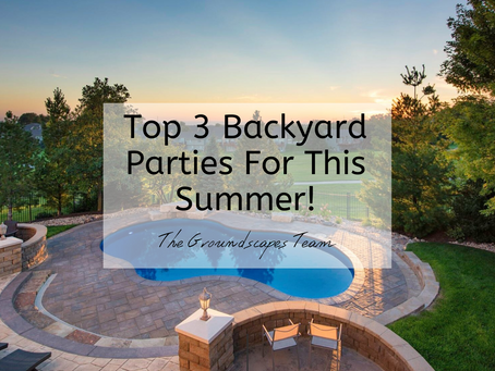 Top 3 Backyard Parties For This Summer!