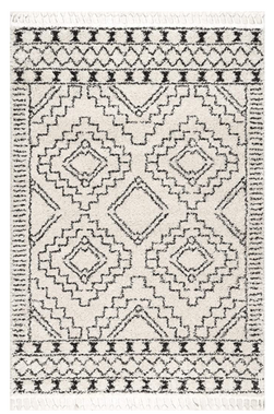 Moroccan Tribal Shag Area Rug