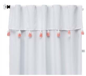 Tassel Curtain Panel