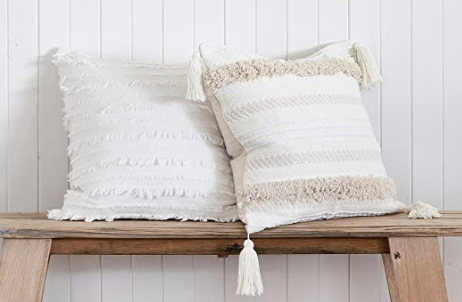 White and Ivory Pillows