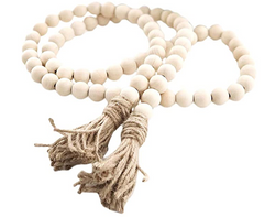 Decorative Wood Beads
