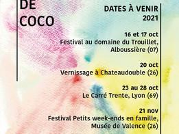 Dates à venir pour les Kamishibaï de Coco