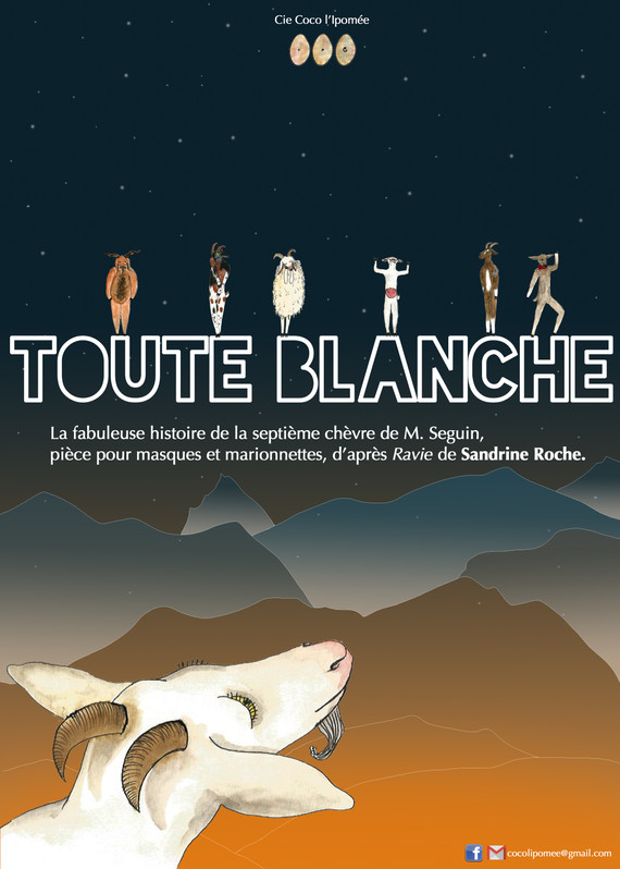 """""""Toute Blanche"""" au théâtre du Gai savoir à Lyon, le 4, 5 et 6 mai"""