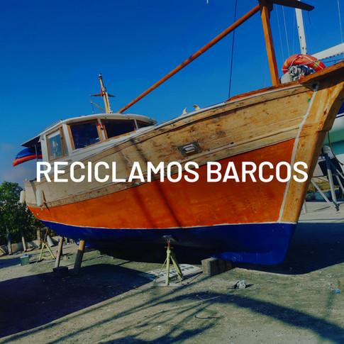 Reciclamos barcos