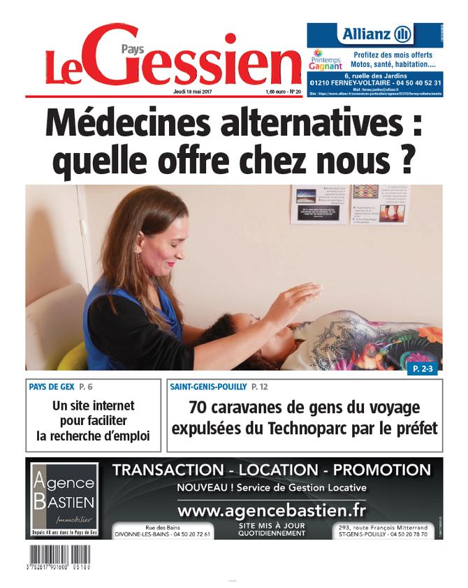Le Pays Gessien: article sur les thérapies alternatives!