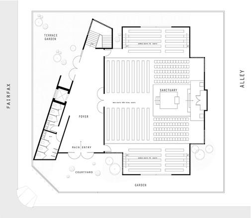 Conceptual First Floor- Sancturay
