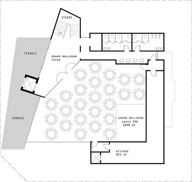Conceptual Third Floor- Ballroom