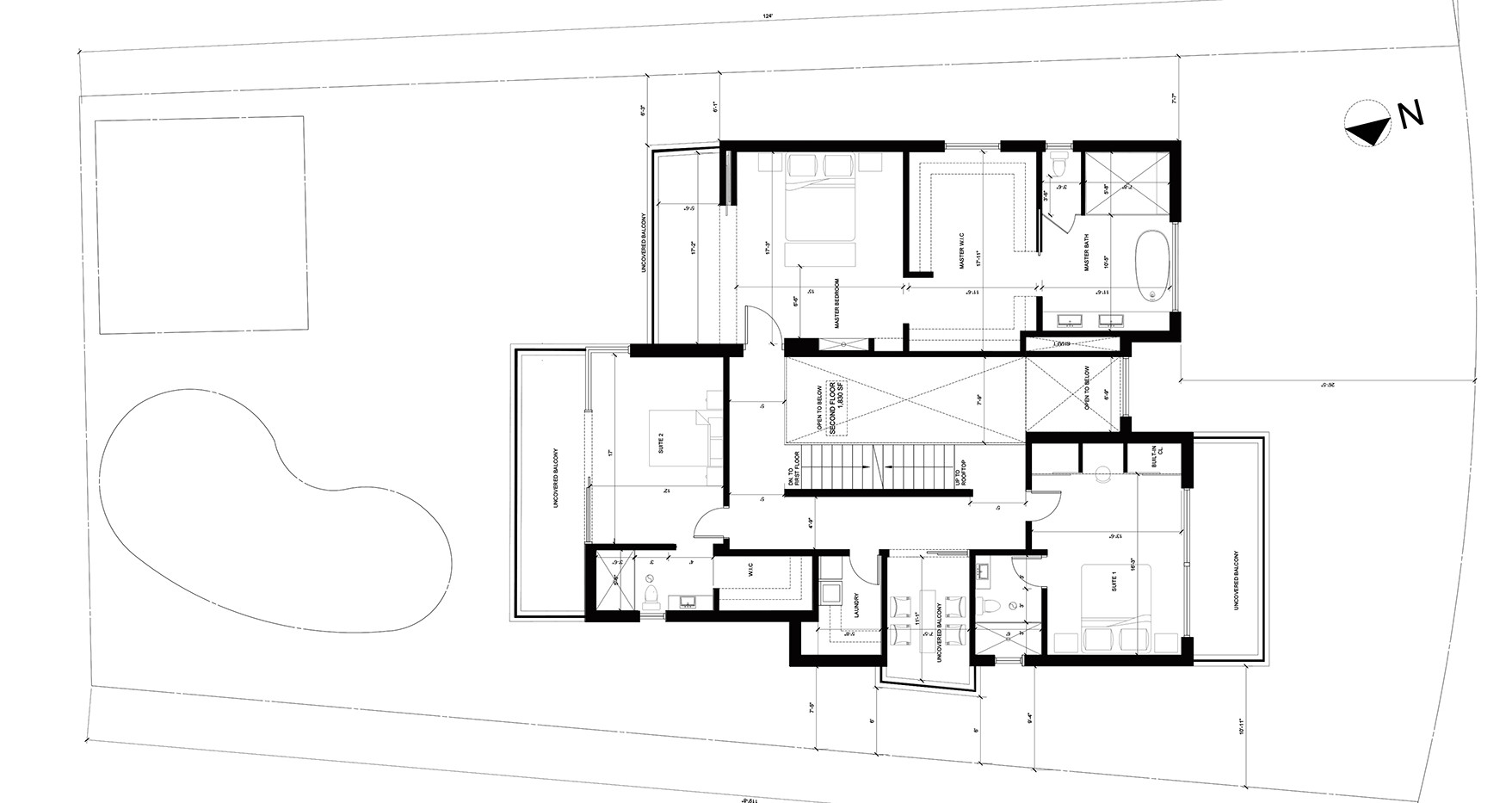 Conceptual Second Floor