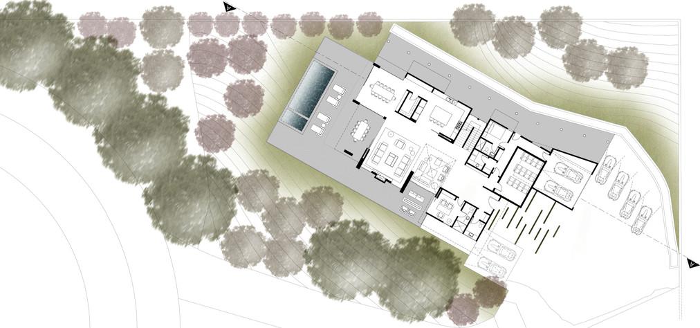 Conceptual First Floor Plan