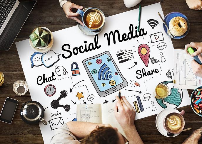 Social Media Networking Global Communica