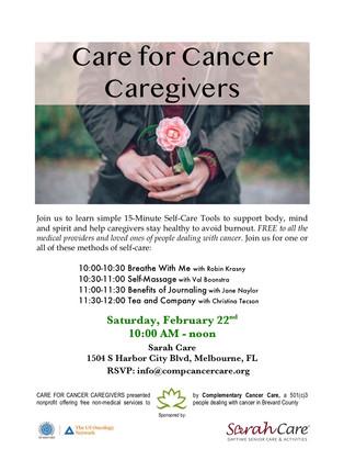 Caregiver event