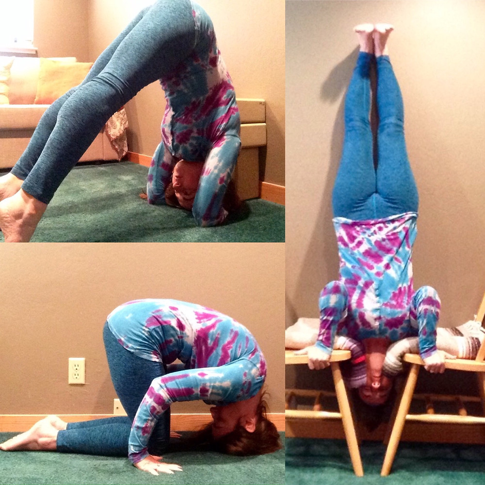 3 poses that equal headstand