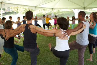 Yoga Supporting the Cancer Community