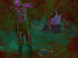 TagTool Live digital painting screenshots  for AQUARIUM installation 2015