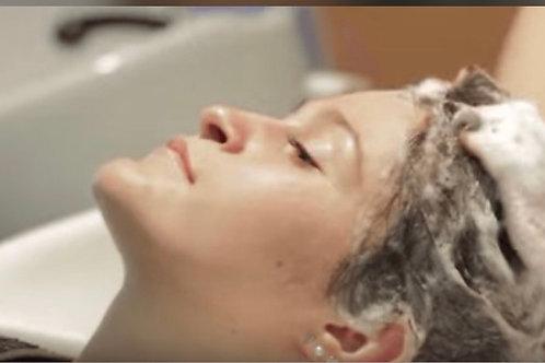 SPA klippning inklusive anpassad hårkur och en anpassad produkt