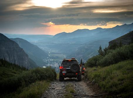 Twilight on Black Bear Pass