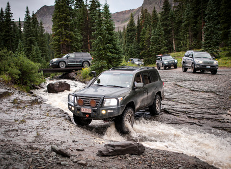 Land Cruiser 200 Series Moab and Ouray Adventure