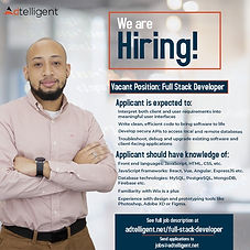 Full Stack Developer Job Description