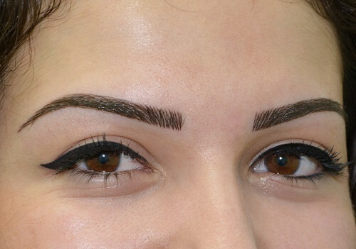 maquillage permanent sourcil feather brows