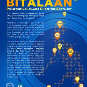 BITALAAN+ : Philippine Languages Under the Spotlight