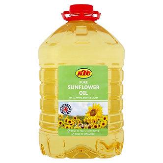 Pure Sunflower Oil  KTC    5 litre