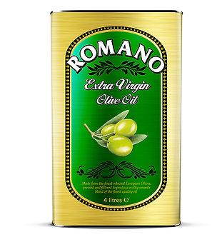 Extra Virgin Olive Oil ROMANO   4 litre