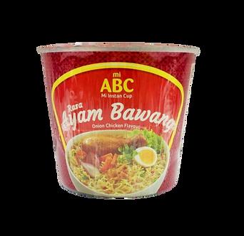 Ayam Bawang Cup Noodles ABC  60g