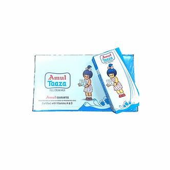 Amul Taaza Milk 1 Carton (12 pcs)