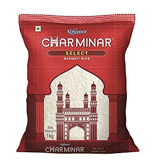 Charminar Select Basmati Rice KOHINOOR    1kg