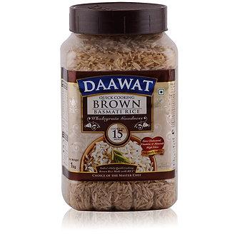 Brown Basmati Rice DAWAAT    1kg