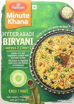 Minute Khana - Hyderabadi Biryani  HALDIRAM'S    200g