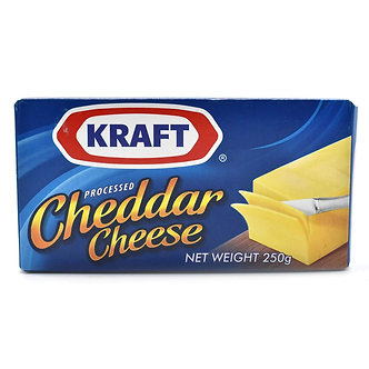 Cheddar (Processed Cheese) KRAFT   250g