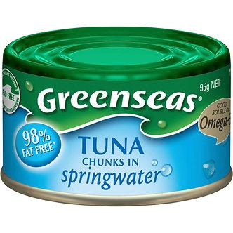 Tuna Chunk in Spring Water GREENSEAS   95g