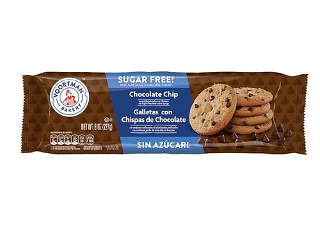 Sugar Free Chocolate Chip  VOORTMAN COOKIES    227g