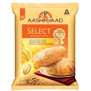 Select Sharbati Atta AASHRIVAAD  5kg