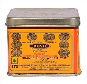 Orange Red Food Colour BUSH   100g