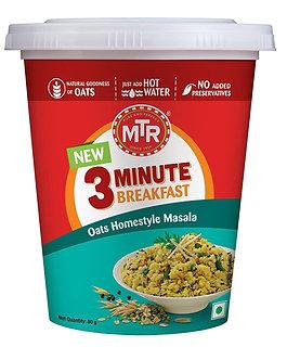 3-Min Breakfast Oats Homestyle Masala MTR   80g