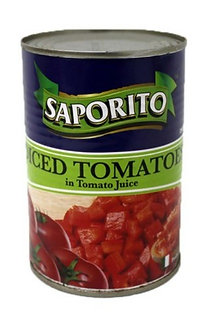 Saporito Diced/Chopped Tomatoes   400g