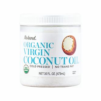Roland Organic Coconut Virgin Olive Oil  16oz