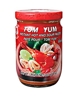 Tom Yum Paste COCK BRAND    227g